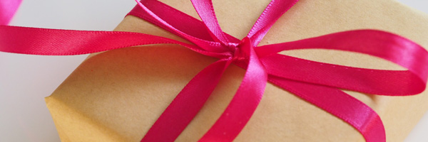 Gift wrapping service at Foxy Lots Jewellery